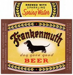 Frankenmuth Beer from Frankenmuth Brewery, Frankenmuth, Michigan