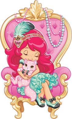 Strawberry Shortcake Cartoon, Strawberry Shortcake Coloring Pages, Cute Disney Wallpaper, Cute Wallpaper Backgrounds, Cute Wallpapers, Clipart, Kindergarten Drawing, Bunny Drawing, Disney Princess Frozen