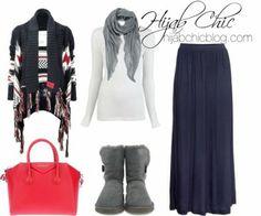 Hijab Chic: UGG Australia boots