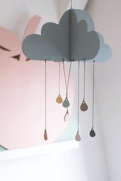 Wolken Mobile | Kreativunternehmen Rasmussons im Interview | Interior | Small Brands | Behind the Scenes | Hinter den Kulissen | Handgemacht | Schönes für Kinder