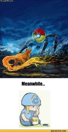 Firefox & Chrome battle...meanwhile