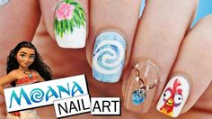 Beautiful nail art designs that are just too cute to resist. It's time to try out something new with your nail art. Disney Nail Designs, Creative Nail Designs, Nail Art Designs, Creative Ideas, Little Mermaid Nail Art, Frozen Nail Art, Minnie Mouse Nail Art, Disney Inspired Nails, Jasmine Nails