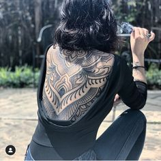 Tattoo Back Piece Backpiece - Tattoo Dr Tattoo, Backpiece Tattoo, Yakuza Tattoo, Lotus Tattoo, Tattoo Girls, Girl Tattoos, Free Tattoo Designs, Tribal Tattoo Designs, Designs Mehndi