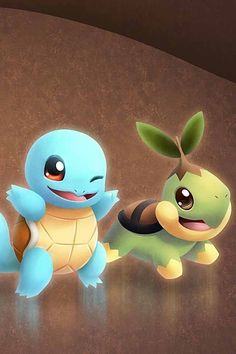 Turtwig & Squirtle