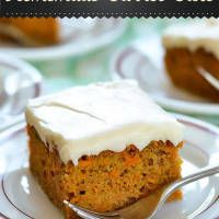 We all love homemade recipes; especially for cakes. You'll love this recipe for carrot cake. It soft and moist. And tastes divine. This simple carrot cake recipe is a healthier option to try.   You Will Need: For Cake 1 cup of vegetable oil  ½ cup of granulated sugar  3 pieces of