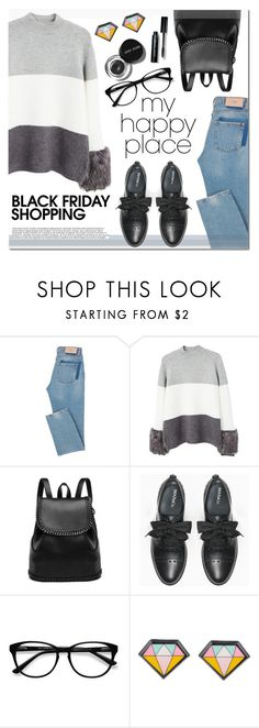 """""""Black Friday shopping outfit"""" by anja-jovanovich ❤ liked on Polyvore featuring MANGO, Max&Co., EyeBuyDirect.com and Bobbi Brown Cosmetics"""