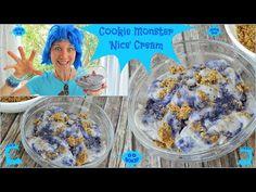 Cookie Monster 'Nice' Cream - YouTube