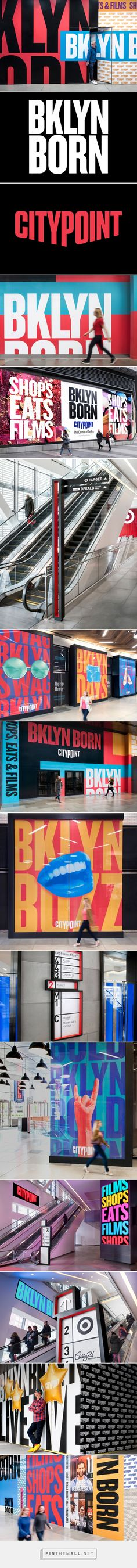 City Point - Brand Identity, Wayfinding, and Campaign on Behance... - a grouped images picture - Pin Them All