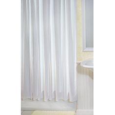 InterDesign York Shower Curtain, White InterDesign http://www.amazon.com/dp/B002H9X6Z8/ref=cm_sw_r_pi_dp_jqXQtb1TMQ0866N6