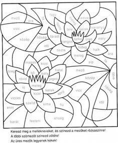 Színezők nyelvtanhoz Crochet Edging Patterns, Applique Quilt Patterns, Learning Time, Kids Learning, Dysgraphia, Stained Glass Patterns, Special Education, Coloring Pages, Grammar