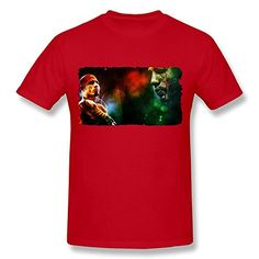 XY-TEE Men's Short Sleeve Tee Miguel Cotto Cold Killers Boxer Red Size XS