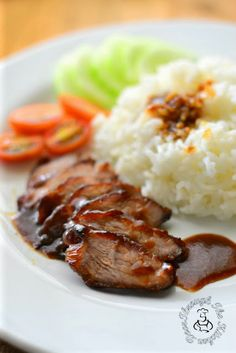Through The Kitchen Door: Homemade Char Siew