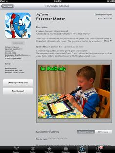 iPad apps for the music classroom! Thanks TMEA!