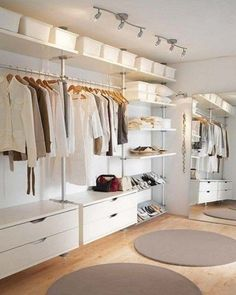 ComfyDwelling.com » Blog Archive » 37 Striking And Stylish Minimalist Closets