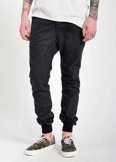 designer fashion f91a2 97cd4 Dynamo Chino Black Coated Twill