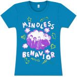 **On Sale** Mindless Behavior Scribble Photo Girl's Fitted T-Shirt $5.00