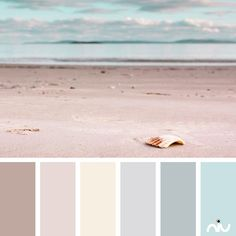pastel beach (landscape) Color Palette - Paint Inspiration- Paint Colors- Paint Palette- Color- Design Inspiration pretty for a lounge Pastel Colour Palette, Pastel Colors, Colours, Colour Palettes, Bedroom Color Palettes, Neutral Colors, Colour Palette 2018, Beach Paint Colors, Coastal Color Palettes