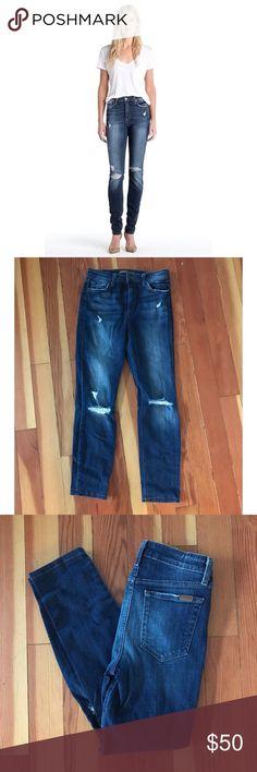 "Joe's Riri High Rise Skinny Jeans High waisted distressed Skinny jeans by Joe's Jeans. 28"" inseam. Joe's Jeans Jeans Skinny"