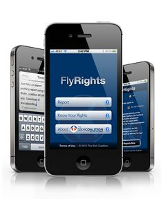 All too often people with and without disabilities are faced with air travel discrimination. Here is a new app that is quick and easy way to report complaints of air travel discrimination in real time, right after the incident occurs.
