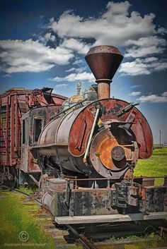 Old Train Engine by: Randall Nyhof