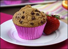 Hungry girl low-fat Chocolate Chip Muffin