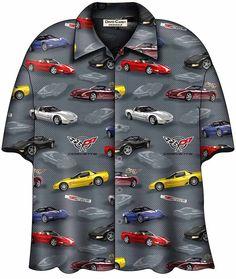 b24953cbb7f Buy David Carey C5 Corvette Camp Shirt-48741