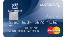 American Airlines   Business MasterCard   Butterfield