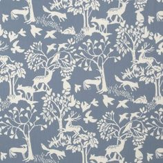 Vilda Woodland Sage Oilcloth Tablecloth tableprotectordirect.co.uk