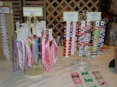 Hair Bows and Barrettes - Photo Gallery - Snapshots from a craft show ...