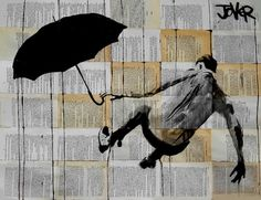 "Saatchi Art Artist Loui Jover; Drawing, ""gravity"" #art"