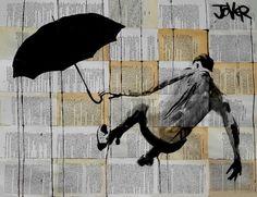"Saatchi Art Artist Loui Jover; Drawing, ""gravity"" #art"