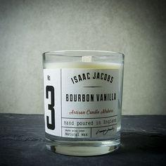 Isaac Jacobs Bourbon Vanilla 30cl Candle