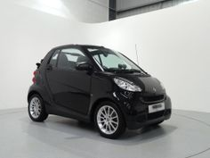 Smart Fortwo Passion Automatic Convertible Finished in Metallic Black with Black / Grey Interior. For more images and spec: http://www.simonjamescars.co.uk/smart-car-fortwo-cabrio-passion-mhd-in-derbyshire-3730799