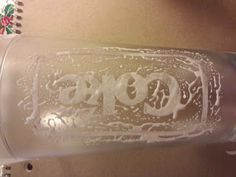Glass Etching (for you @Julia Ansley because I see you pinning glass etching projects haha!)