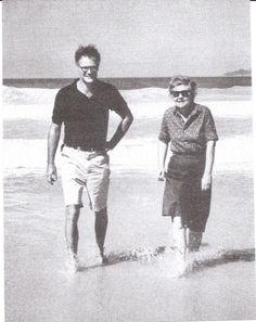 mid-century American poets (& best friends) Robert Lowell & Elizabeth Bishop