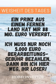 Millionen geerbt, ich muss nur noch 5000 Euro bezahlen.  Die Finanzweisheit des Tages! #funny #lol #lmao #lmfao #hilarious #laugh #laughing #tweegram #fun  #friends #photooftheday #friend #wacky #crazy #silly #witty #instahappy  #joke #jokes #joking #epic #instagood #instafun #funnypictures #haha  #humor