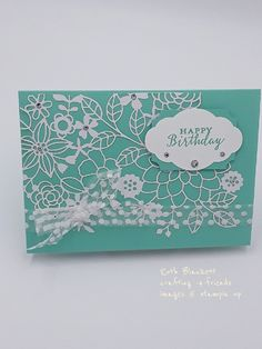 Delightfully detailed laser-cut DSP stampin up Laser Cut Paper, Lazer Cut, Specialty Paper, Get Well Cards, Color Card, Laser Cutting, Die Cutting, Die Cut Cards, Paper Decorations