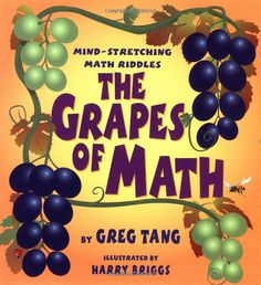 The Grapes Of Math by Greg Tang #Books #Kids #Math