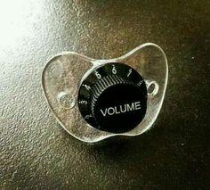 Baby volume control.