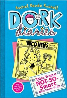 "Read ""Dork Diaries 5 Tales from a Not-So-Smart Miss Know-It-All"" by Rachel Renée Russell available from Rakuten Kobo. Nikki Maxwell authors an advice column for the school newspaper in this fifth book of the New York Times bestselling Dor. Dork Diaries Series, Dork Diaries Books, Good Books, Books To Read, My Books, Amazing Books, Gesprochenes Wort, Gossip Column, Guter Rat"