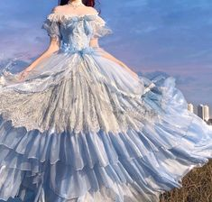 Pretty Outfits, Pretty Dresses, Beautiful Dresses, Ball Dresses, Ball Gowns, Kawai Japan, Estilo Lolita, Old Fashion Dresses, Fantasy Gowns