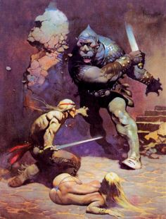 Frank Frazetta --   The Moonmen (2015-02-15)