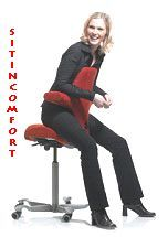 Ergonomic Saddle Chair - HAG Capisco Saddle Chair -- SOLD OUT - DISCONTINUED