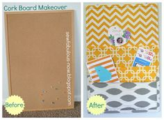6 Must-Share Corkboard Makeovers | Skinny Mom | Tips for Moms | Fitness | Food | Fashion | Family