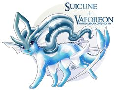 [OPEN] Suicune x Vaporeon by Seoxys6 on DeviantArt