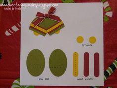 sweet as a gumdrop...: Bells Punch Art Instructions...
