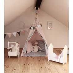PRODUCTS :: KIDS :: CHILDREN'S TENTS AND TEEPEES :: Tipi Puder Rose