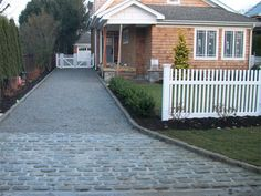 pictures of gravel driveway edging - Google Search