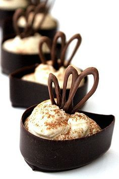 mini tiramisu cups. I can make these but oh the patience of Job will be needed!