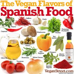plant-based Spanish flavours #vegan